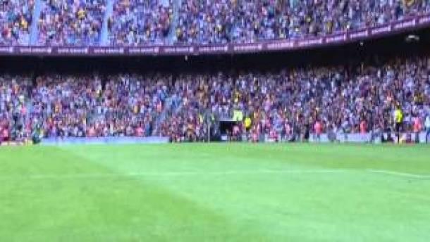 Récital du Barça contre Levante
