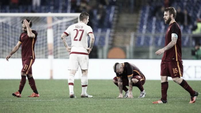 Milan - Roma in Serie A 2016 (1-3): i giallorossi chiudono terzi, i rossoneri settimi e tra i fischi di San Siro