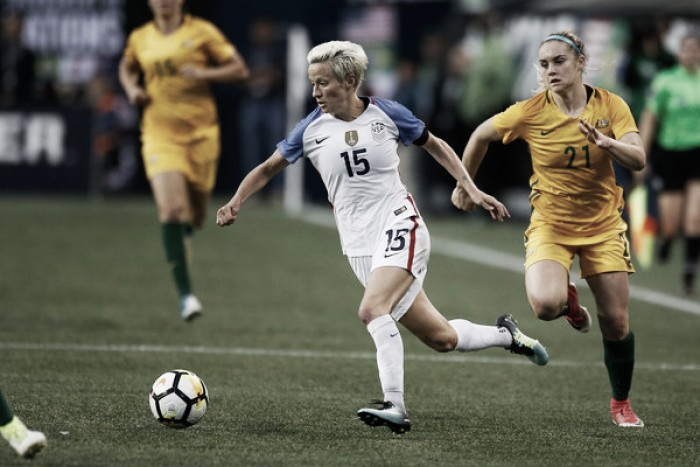 "Megan Rapinoe rips FIFA voting process, calls the organization ""old, male and stale"""