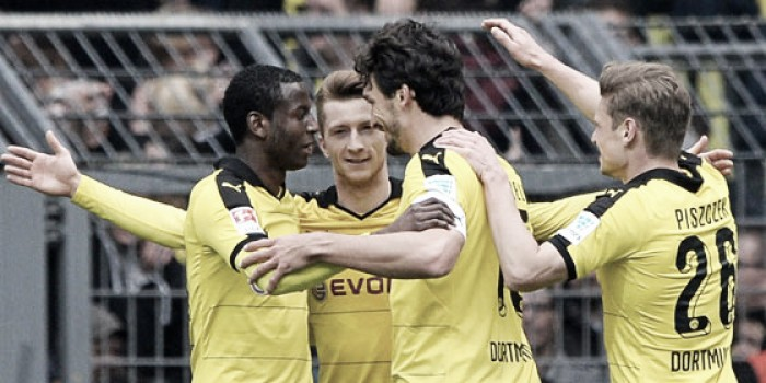 Borussia Dortmund 5-1 VfL Wolfsburg: BVB run rampant to end Wolves' European hopes