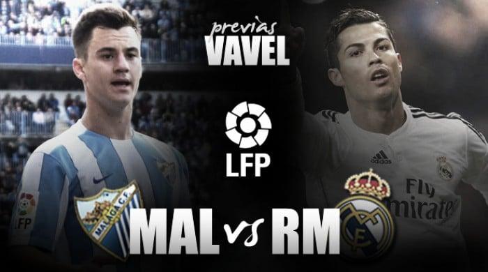 Previa Málaga - Real Madrid: la Costa del Sol a por la bandera blanca