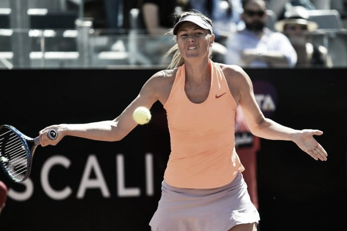 Sharapova si ritira da Birmingham, Wimbledon a rischio?
