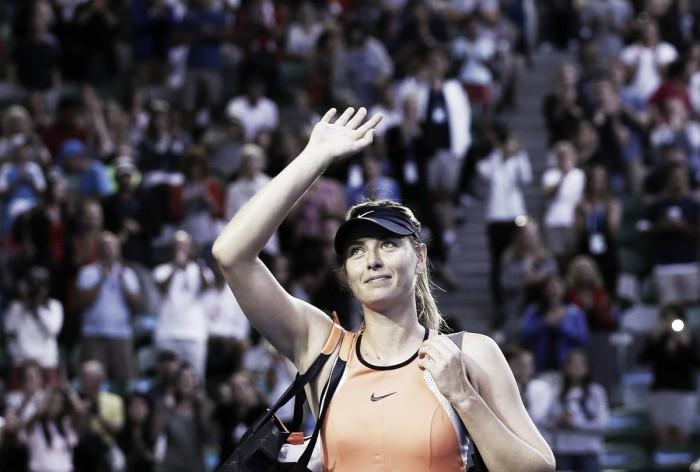 """WTA, il TAS riduce di nove mesi la squalifica di Maria Sharapova: """"Doping non intenzionale"""""""