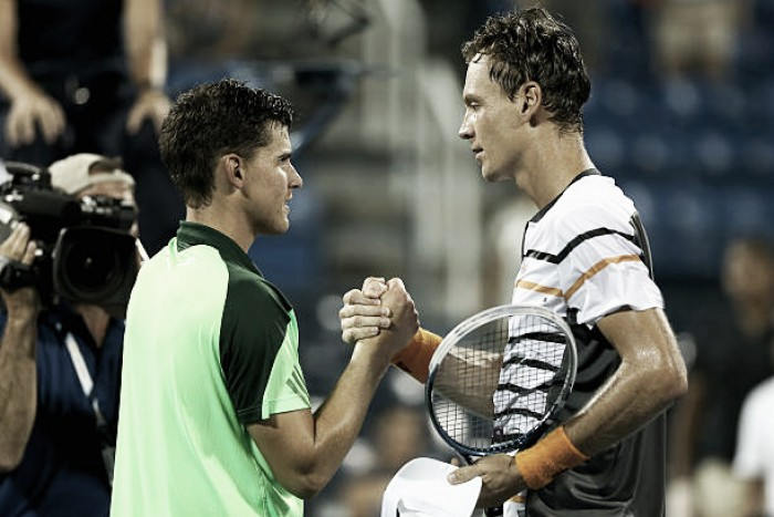 Wimbledon fourth round preview: Dominic Thiem vs Tomas Berdych