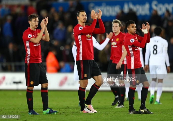 Ibrahimovic admits he was never worried about goal drought, after Swansea double