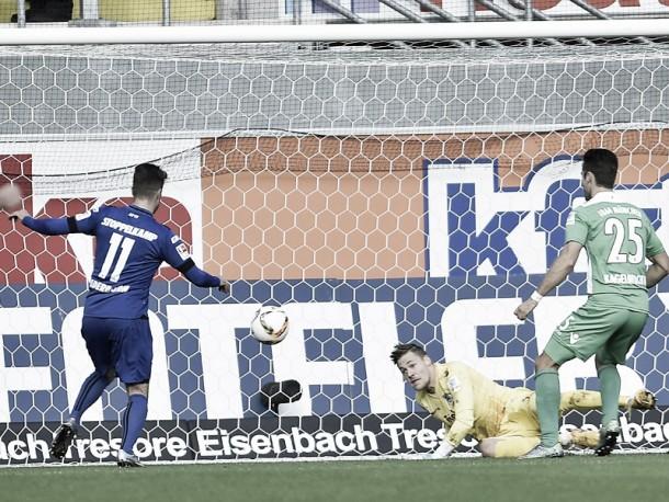 SC Paderborn 07 4-4 1860 Munich: Eight goal thriller at the Benteler Arena