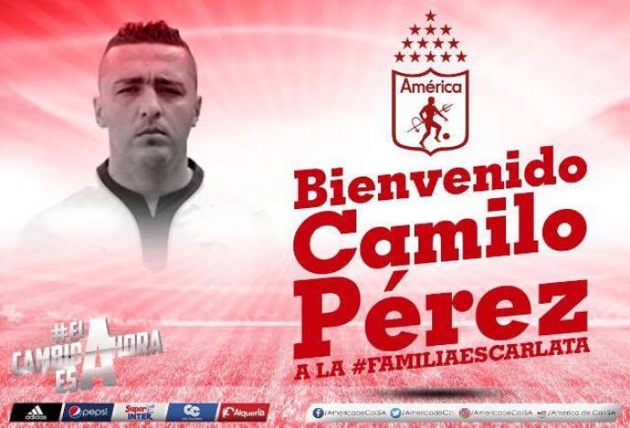 """Camilo Pérez: """"A los hinchas del América que tengan fe en este proyecto"""""""