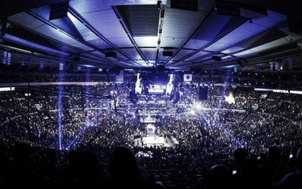 El Madison Square Garden Un Grande De Nueva York