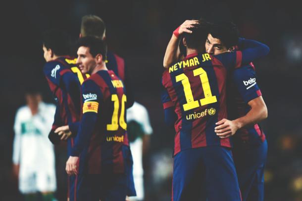 La Liga 2015 - Elche 0-6 Barcelona: As it happened