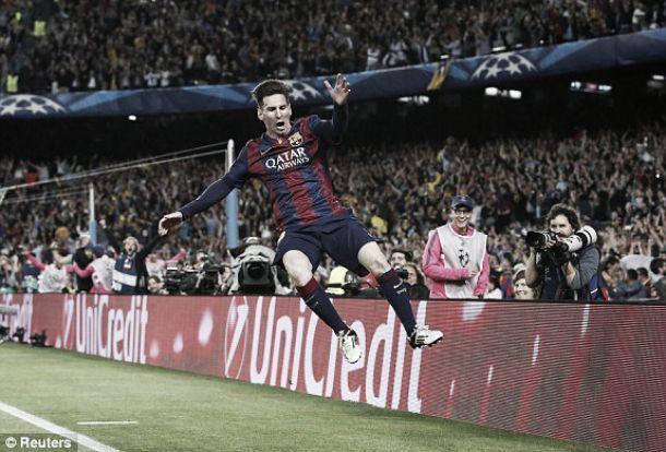 Liga dos Campeões: Com Tévez e Messi, dançou-se tango nas 'meias'