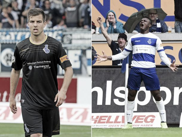 Onuegbu andWolze extend their stay with MSV Duisburg