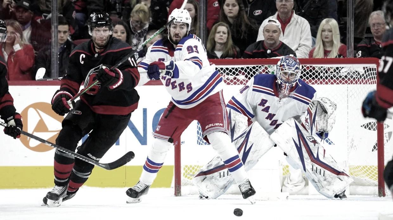 ¿Shesterkin, Georgiev o Lundqvist para defender a los Rangers ante los Hurricanes?