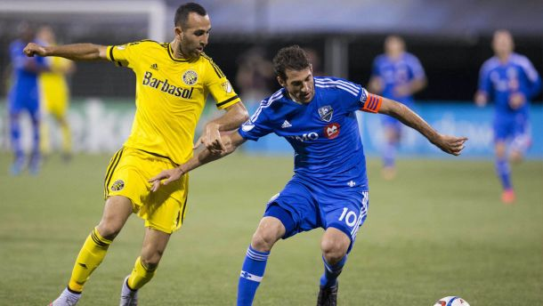 Score Montreal Impact - Columbus Crew in 2015 MLS Playoffs (2-1)