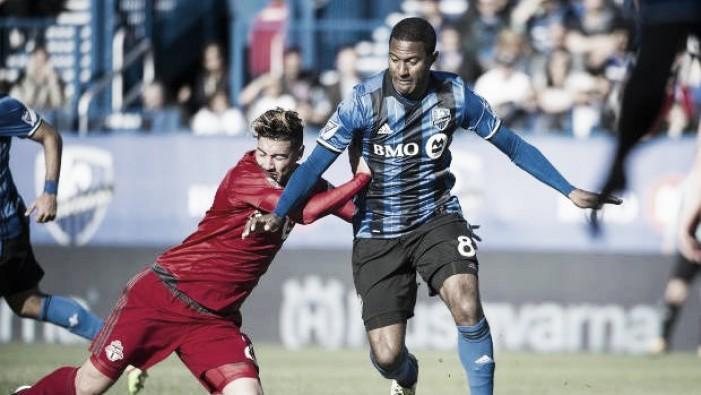Sebastian Giovinco, Toronto FC down Montreal Impact in 401 Derby