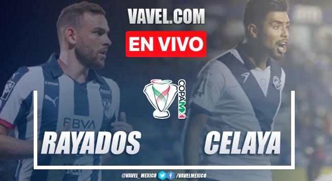 Resumen y goles: Rayados de Monterrey 3-0 Celaya FC en Copa MX 2020