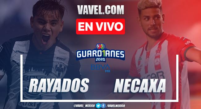 Goles y resumen del partido:Monterrey 1-1 Necaxa en Liga MX 2020