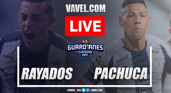 Goals and Highlights of Rayados 0-1 Pachuca on Liga MX 2021