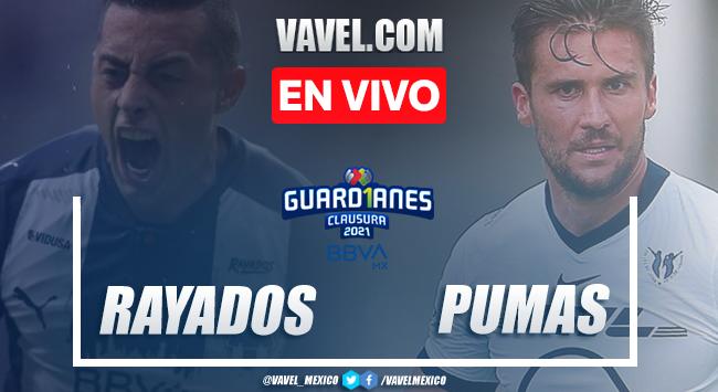Gol y resumen del Rayados 1-0 Pumas en Liga MX 2021