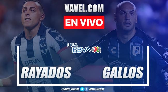 Resumen y video goles Monterrey 1-2 Querétaro en Liga MX 2020