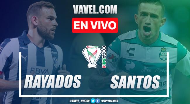 Resumen y gol: Rayados Monterrey 1-0 Santos en Copa MX 2020