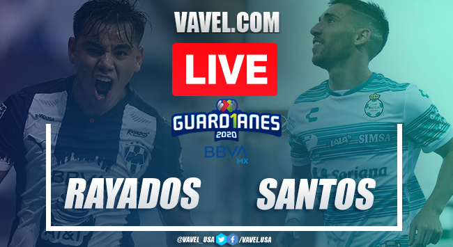 Goals and highlights: Rayados de Monterrey 2-2 Santos Laguna, Guard1anes 2020 Liga MX