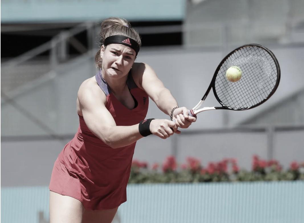 Muchova derrota Sakkari após longo jogo e vai às quartas em Madrid