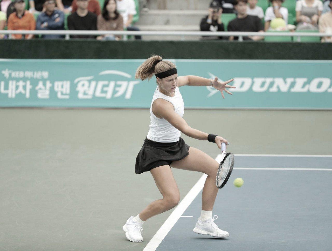 Muchova domina Linette e é campeã do WTA de Seul