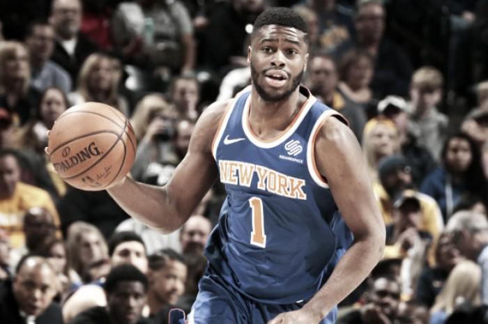 Mudiay jugará su primer partido en el Madison con los Knicks