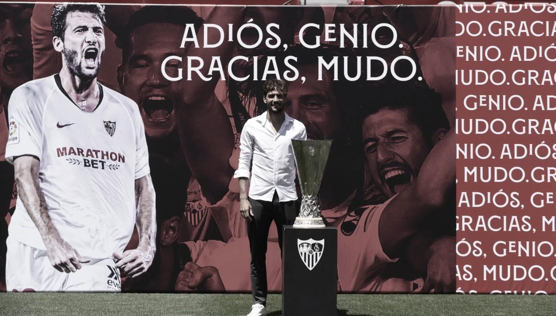 Mudo Vázquez y Tomáš Vaclík se despiden del Sevilla