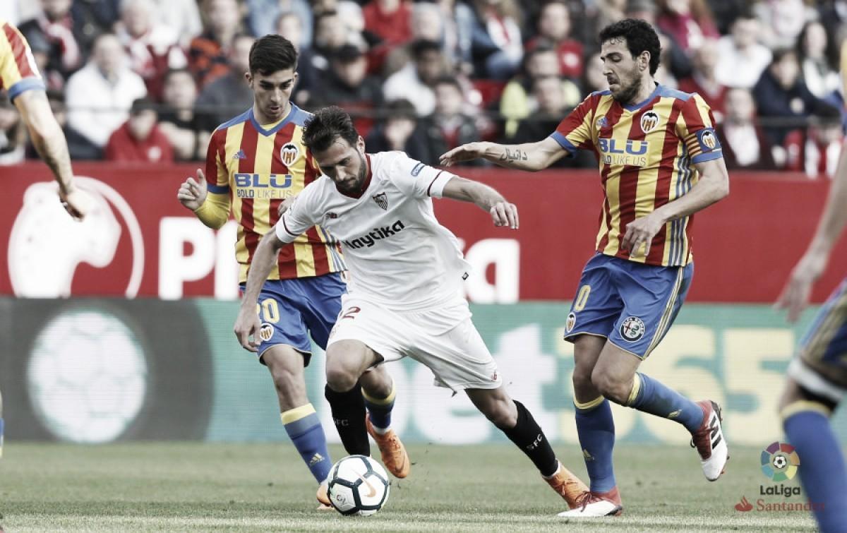 """Escudero: """"Hemos hecho dos partidos muy buenos contra un rival muy fuerte"""""""