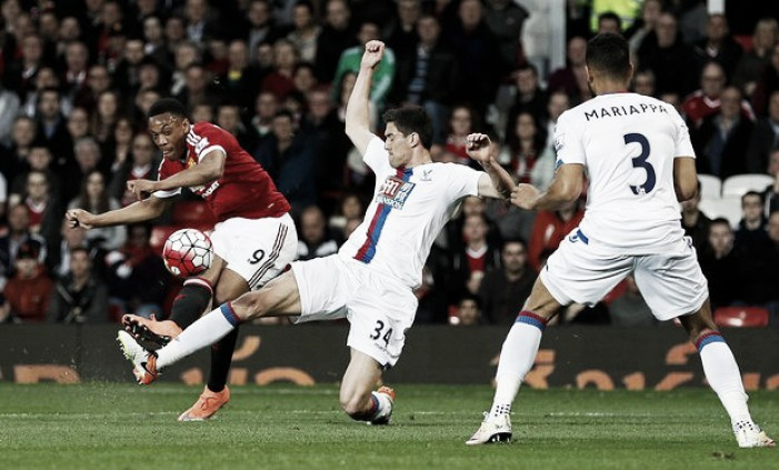 Manchester United 2-0 Crystal Palace: Semi-strength Eagles easily beaten by Red Devils