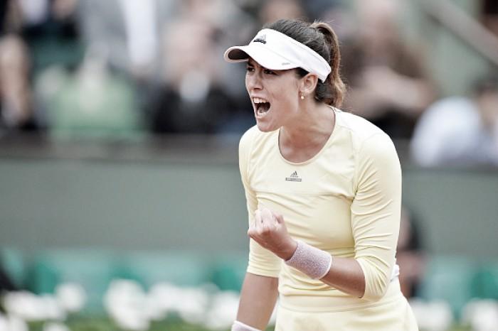 Garbine Muguruza supera Kuznetsova em sets diretos e está nas quartas de Roland Garros
