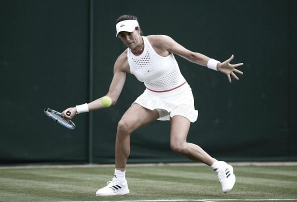 Muguruza no sale del pozo y cae en primera ronda de Wimbledon