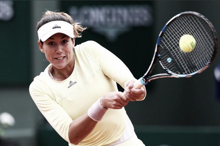 Garbine Muguruza bate Schmiedlova na primeira rodada de Roland Garros