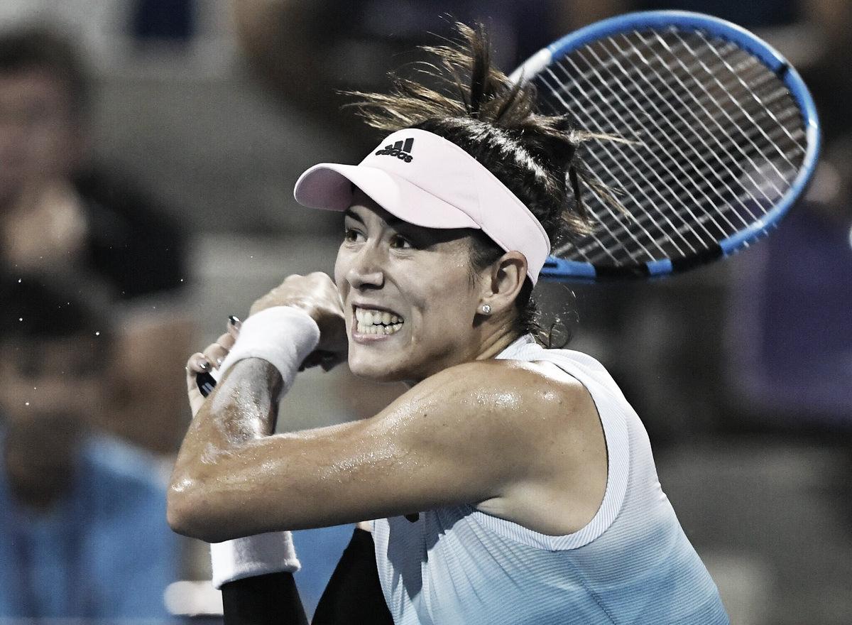 Muguruza estreia com vitória sobre Lisicki no WTA de Hua Hin