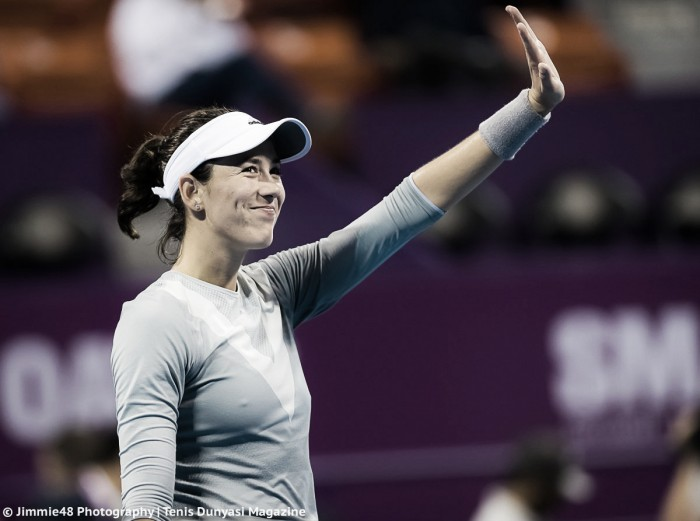 WTA Doha: Garbiñe Muguruza dominates Sorana Cirstea in one-sided affair