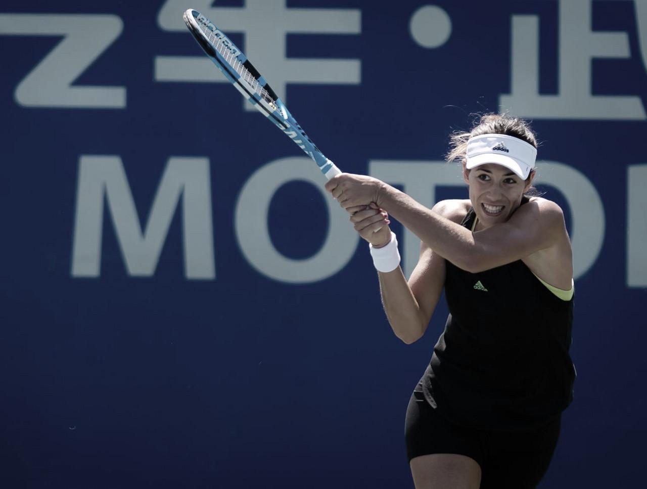 Muguruza bate Peng na estreia, encerra sequência de derrotas e avança no WTA de Wuhan