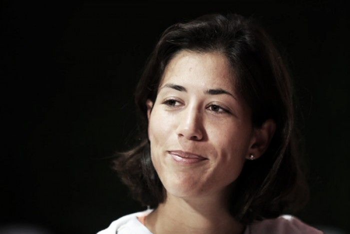 Garbine Muguruza discusses on-court frustrations and pressures of being a champion