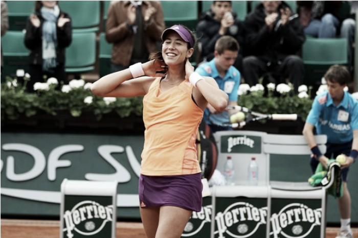 Roland Garros 2016: Muguruza mantém crescimento neste ano