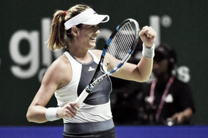 WTA Doha: avanti Radwanska e Muguruza, sorpresa Ostapenko