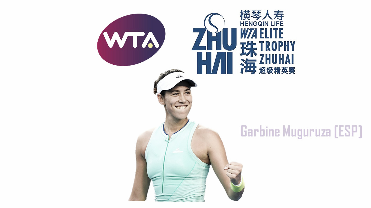 Garbine Muguruza qualifies for WTA Elite Trophy