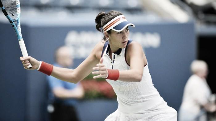 Garbiñe Muguruza abre el US Open por todo lo alto