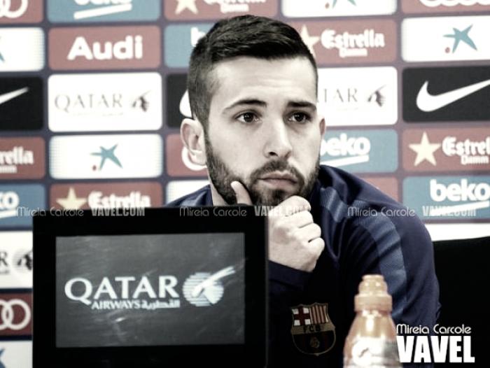 """Jordi Alba: """"Hacía tiempo que no tenía esa chispa, esas ganas"""""""