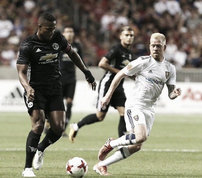 Manchester United downs Real Salt Lake in friendly