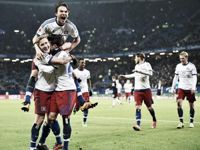Hamburger SV 2-0 Hertha BSC: Hosts get massive victory to keep season afloat