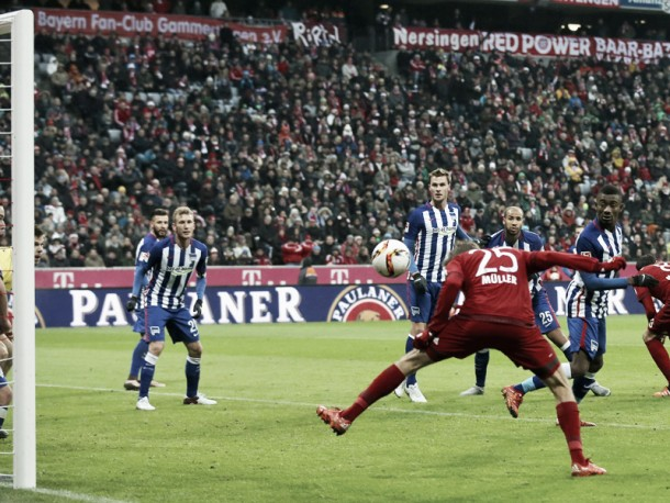 Bayern Munich 2-0 Hertha BSC: Die Roten continues perfect start to season