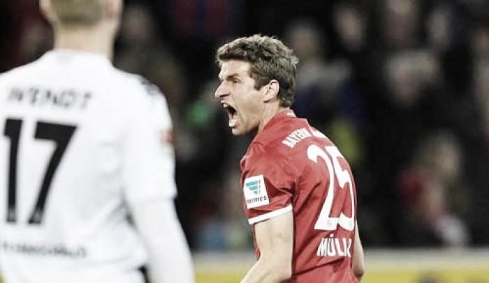 Bundesliga - Muller abbatte il muro del Gladbach, Bayern a un passo dal Meisterschale (0-1)