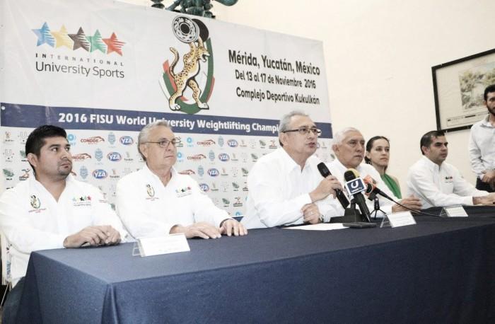 Yucatán listo para albergar el Campeonato Mundial Universitario de Halterofilia