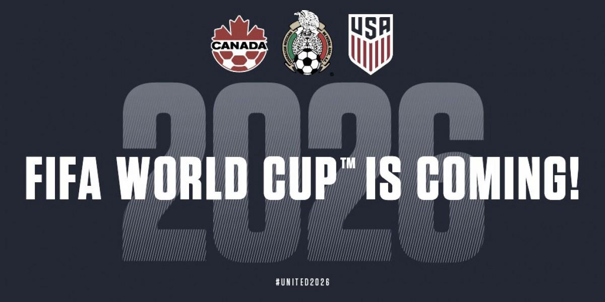 Canadá, México y Estados Unidos serán las sedes del Mundial 2026