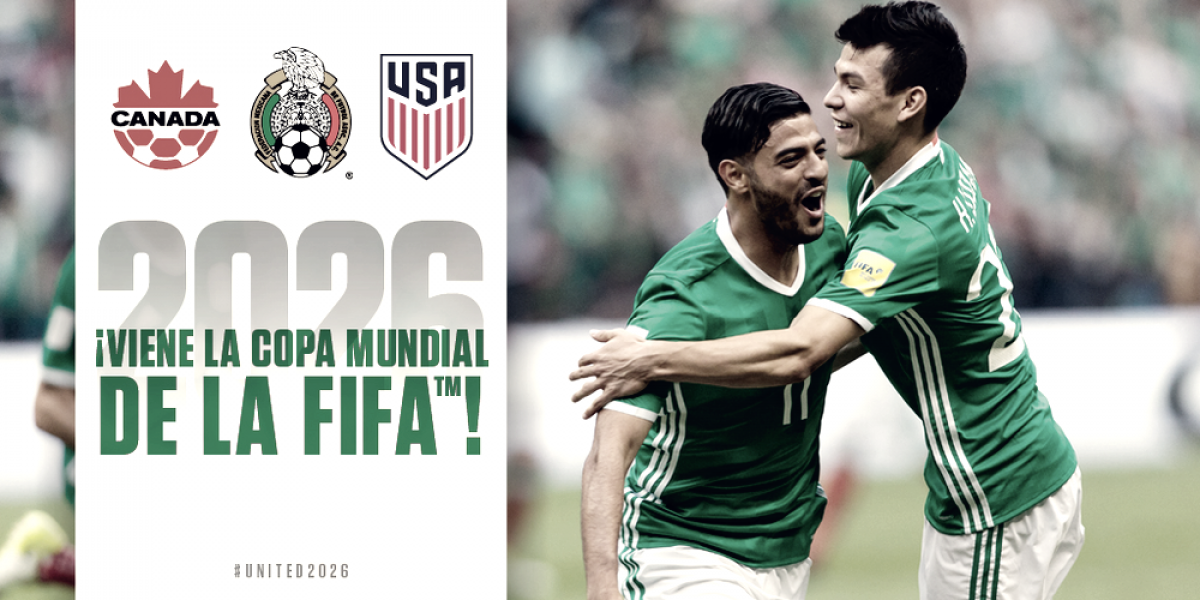 México, Estados Unidos y Canadá organizarán el Mundial 2026